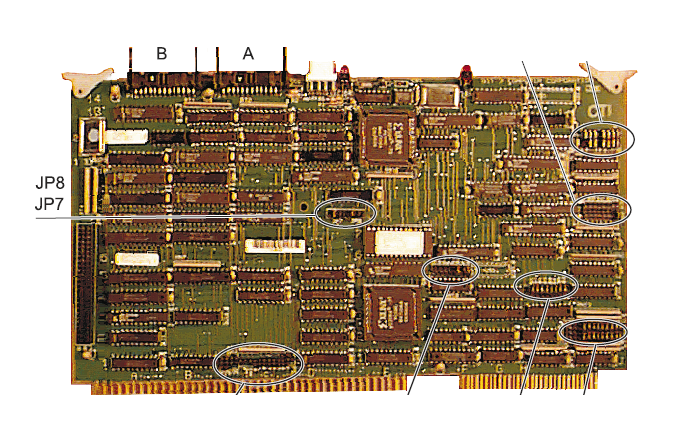 GSI 225.596.07 - Bit3 Board MultiBus Repair